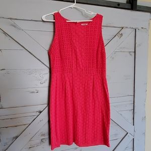 Coral Easter dress